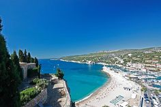 Chateau de Cassis in Marseille, Provence - France