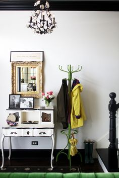 Love the coat rack