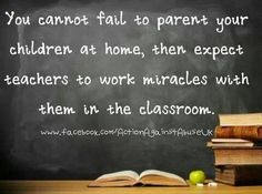 I'm not a teacher but I taught preschool for many years and have worked in child care and I can't believe how much responsibility parents place on teachers/child care providers, to raise their children! Potty training and tying your shoes isn't something a preschool teacher can teach your child without your help... Do your job at home and we will do our best to encourage it at school/daycare as well!