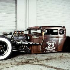30' Ford Skoty Chops Kustoms