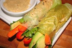 Veggie Hummus Cones - Nibbles By Nic