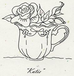 "Tea Party ""Katie"" Pattern"