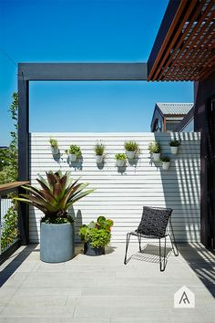 Glebe rooftop and balcony garden project