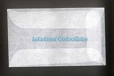 50 Glassine Envelopes - #1 ( 1 3/4 x 2 7/8) GE1 - http://stamps.goshoppins.com/stamp-publications-supplies/50-glassine-envelopes-1-1-34-x-2-78-ge1/