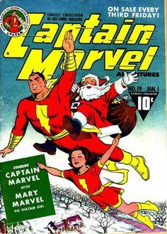Captain and Mary Marvel