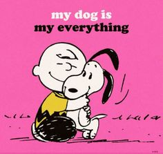 Discovered by Snoopy. Find images and videos about love, dog and snoopy on We Heart It - the app to get lost in what you love. Charlie Brown Und Snoopy, Meu Amigo Charlie Brown, Snoopy Love, Snoopy Hug, I Love Dogs, Puppy Love, Tierischer Humor, Animals And Pets, Cute Animals
