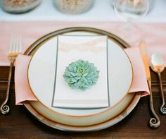 A gorgeous wedding feature with Spanish wedding dresses, succulents, soda bar, dessert table, horse and groom fashion Inexpensive Wedding Flowers, Romantic Wedding Flowers, Wedding Flower Arrangements, Flower Centerpieces, Romantic Weddings, Table Arrangements, Centrepieces, Green Wedding Dresses, Green Wedding Shoes