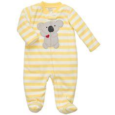 Microfleece Sleep & Play   Baby Boy Pajamas