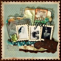 WITH YOU **UNITY STAMP CO.** - Scrapbook.com