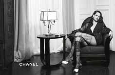 Chanel Paris-In-Rome Metiers d'Art 2016 Collection Campaign Photos. Photographed By: Karl Lagerfeld. Model: Kristen Stewart.