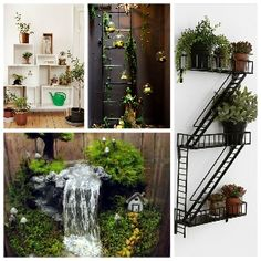 15 Indoor Garden Ideas To Make Your Home Cute Garden makes the air of your home fresh and beautifies Crop Pictures, Green Pictures, Apartment Therapy, Terrarium, Decorating Your Home, Diy Home Decor, Garden Ideas To Make, Open Cabinets, Cute Diys