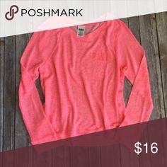 VS Pink Sweatshirt In good used condition.! PINK Victoria's Secret Tops Sweatshirts & Hoodies