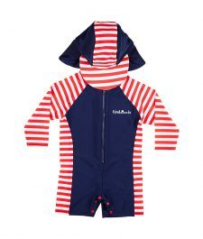 d0322bb18ac House of Fraser Rashoodz Kids sunsuit with stripe print - ShopStyle Swimwear