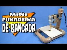 Como fazer uma mini furadeira de bancada! - YouTube
