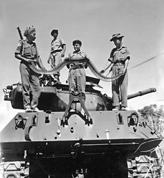 Indian soldiers capture a Pakistani M36B2 Jackson in 1965 Indo-Pak War.