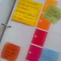Love organizing through Summer colors Summer Colors, Project Management, Organization, Organizing, Bullet Journal, Spotlights, Dividers, Tuesday, Instagram Posts