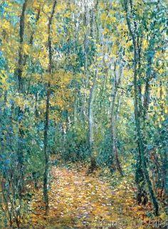 Claude Monet - Sousbois (52,0 x 71,0 cm)
