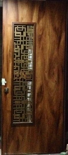 Ideas Main Entrance Door Design Modern For 2019 Door Grill, Grill Door Design, Main Entrance Door Design, Entrance Doors, Entrance Ideas, Door Ideas, Wooden Door Design, Wooden Doors, Glass Front Door