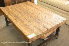 Augusta Antiques and Consignment: Wood Coffee Table