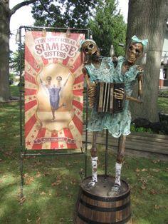 2016 Yard Haunts Halloween forum member BaronVonCreepy