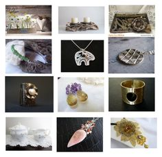 Pretty Gifts on Etsy by anna-recycle on Polyvore featuring Haviland, modern, rustic and vintage