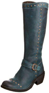 c1ad4a3f38ab Fly London Women s Fymi Black Cowboy Boots P210733003 3 UK  Amazon.co.uk   Shoes   Bags