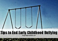 Tips to End Early Childhood Bullying - Plus, Take the Pledge to End Bullying Today! #spon