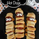 Halloween Snacks *Get more RECIPES from Raining Hot Coupons here* *Pin it* by clicking the PIN button on the image above! Repin It Here These mummy dogs are not only really cute, but they taste totally delicious too! These dogs have cheese and biscuits which make them taste different than the typical hot dog snack. …