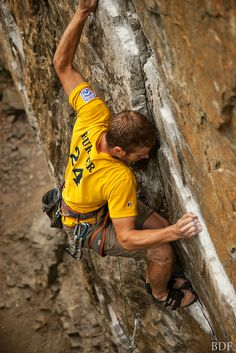 While randomly looking through Climbing pictures I've found Lee on Pinterest. Our friend Brad Took this picture! @Karen Walter