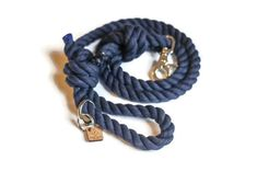 Navy Blue is our pre-dyed navy rope dog leash. Our traffic leads are 2 ft in length. **Every purchase we donate 5 pounds of food to a non-profit animal shelter/rescue. Orders more than $75 and we donate 8 pounds of food and paw cream and a rope toy to the shelter.** IMPORTANT INFO. PLEASE READ Dog Dad Gifts, Gifts For Dog Owners, Dog Lover Gifts, Gifts For Dad, Dog Lovers, Rope Dog Leash, Game Of Thrones Shirts, Nautical Rope, Blue Dog