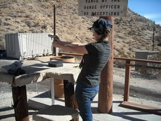 Day at the shooting range