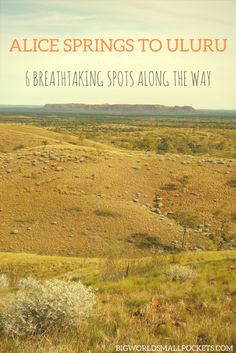 Alice Springs to Uluru - The Best Things to See on Australia's Most Amazing Drive {Big World Small Pockets} - Big World Small Pockets Travel With Kids, Family Travel, Alice Springs Australia, Australian Road Trip, New Zealand Travel, Australia Travel, Along The Way, Travel Around, Strand