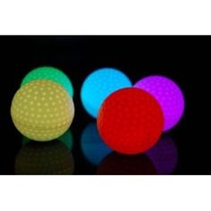 LED golf balls - fun!!!