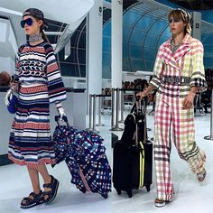 See the best social snaps from Chanel's Spring 2016 runway show, courtesy of everyone from models to It girls to the industry's elite.