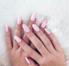 I Love These Oval Nails, Oh And I Love The Colour Too