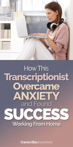 How This Transcriptionist Overcame Anxiety and Found Success Working from Home : Do you suffer from anxiety? Is it harder for you to work in a traditional office setting? Check out why working from home as a transcriptionist could be right for you. Make Money Online, How To Make Money, How To Become, Office Politics, Medical Transcription, Traditional Office, Go It Alone, Office Set, Office 2020