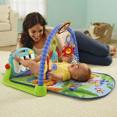 Search Fisher-Prices Babygear section and find a toy by age, category or favorite brand/character.