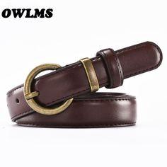 6fc6804a1 Venda quente de Alta Qualidade Mulher cinto de couro preto PU cintura feminina  cinta antigo pin