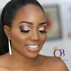 Bridal Makeup Looks For Dark Skin 40 Trendy Ideas Black Bridal Makeup, Best Bridal Makeup, Black Girl Makeup, Bridal Makeup Looks, Bridal Hair And Makeup, Bride Makeup, Girls Makeup, Glam Makeup, Wedding Makeup