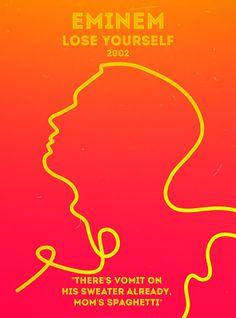 Eminem - Lose Yourself Rap Poster Series