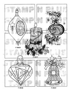 Rubber Stamps for Iris Paper Folding - Christmas Designs Iris Folding Templates, Iris Paper Folding, Iris Folding Pattern, Origami Folding, Card Templates, Paper Cards, Folded Cards, Origami And Kirigami, Christmas Templates