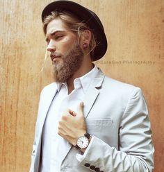 新男神Ben Dahlhaus時尚寫真:大鬍子的男人原來這麼性感! 3
