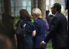 Hillary Clinton Ditches 9/11 Memorial Ceremony Early, Reports Say She Fainted on…