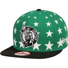 size 40 20cc1 4aca6 Boston Celtics New Era Starry Cap Original 9FIFTY Adjustable Hat - Green  Black