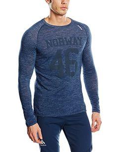 Odlo camiseta para hombre de manga larga para hombre Planai Revolution TW, New Azul marino talla, L, 110202 #camiseta #realidadaumentada #ideas #regalo