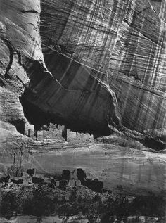 Timothy O'Sullivan - Ancient Ruins in the Canyon de Chelle, New Mexico - 1873