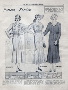 12-11-11 Day Dresses from 1933