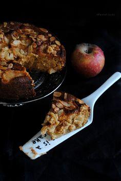 Torta di mele vegan e senza glutine