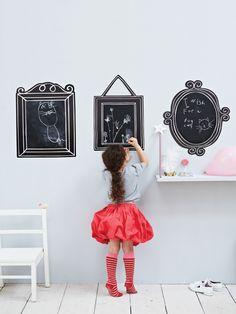Blackboard frames for little ones.