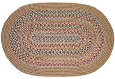 Tapestry Braided Rugs - Wheat 2x4 Oval Braided Rug by Rhody Rugs. $44.99. Quality Crafted in New England. 2x4 Oval Braided Rug. 80% Wool 20% Polypropylene. Available in matching Chair Pads and Stair Treads!. Guaranteed to lie flat!. Tapestry Braided Rug Collection are one of the finest and most luxurious collections of braided rugs available. These rugs are crafted from 80% wool and 20% polypropylene, giving you the softness of wool underfoot with the added durability of ...